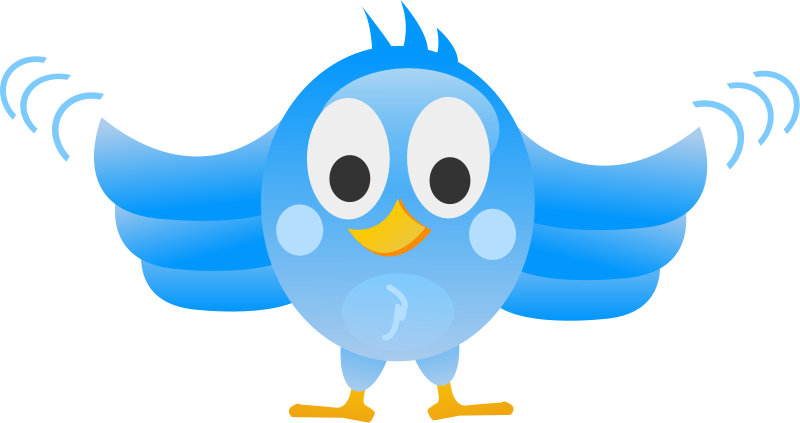 free vector Tweet bird