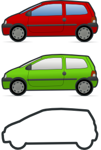 free vector Twingo clip art