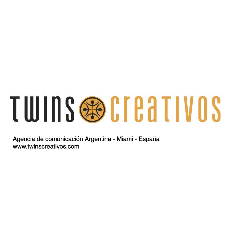 free vector Twins creativos