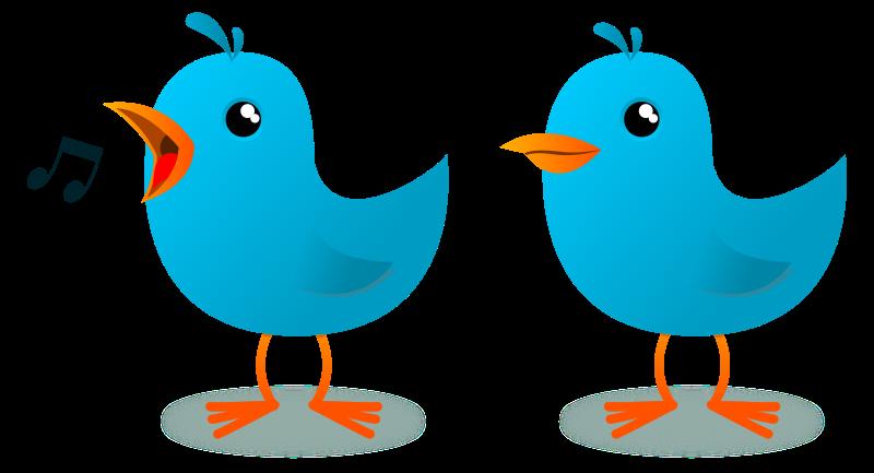 free vector Twitter Bird Mascot