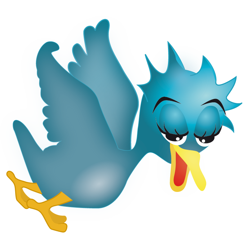 free vector Twitter Icons