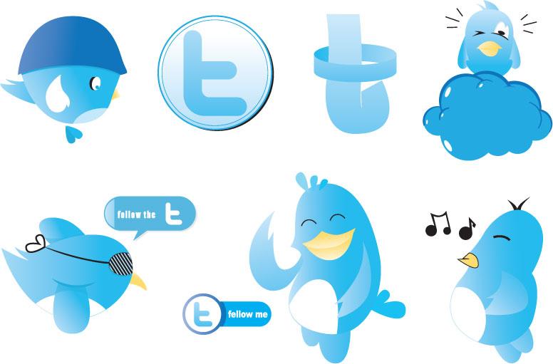 free vector Twitter Vectors