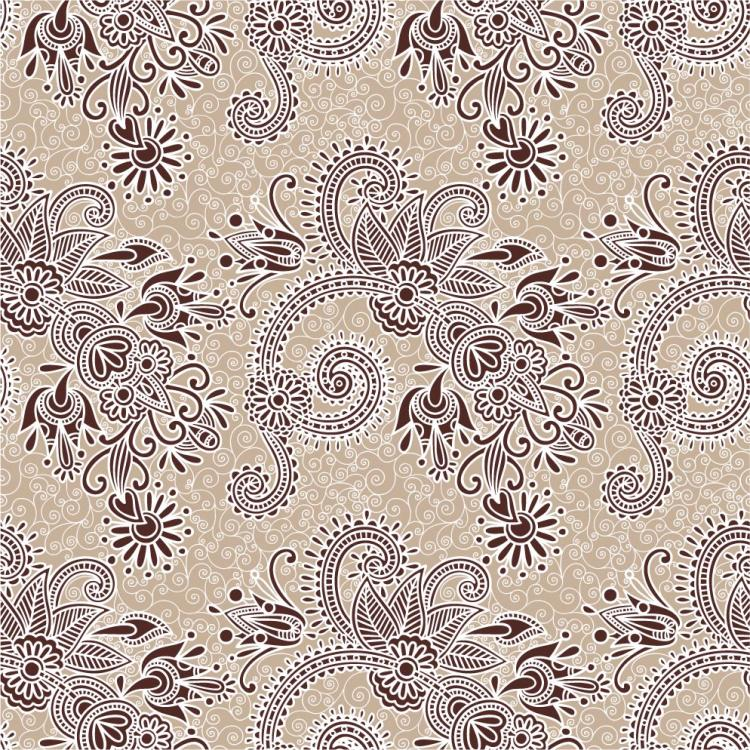 free vector Twoparty continuous pattern 02 vector