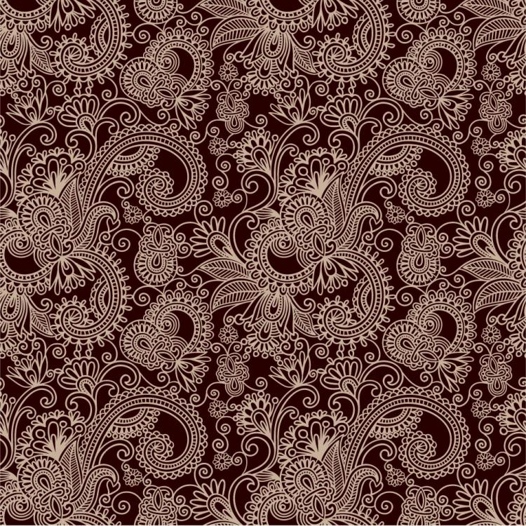 free vector Twoparty continuous pattern 03 vector