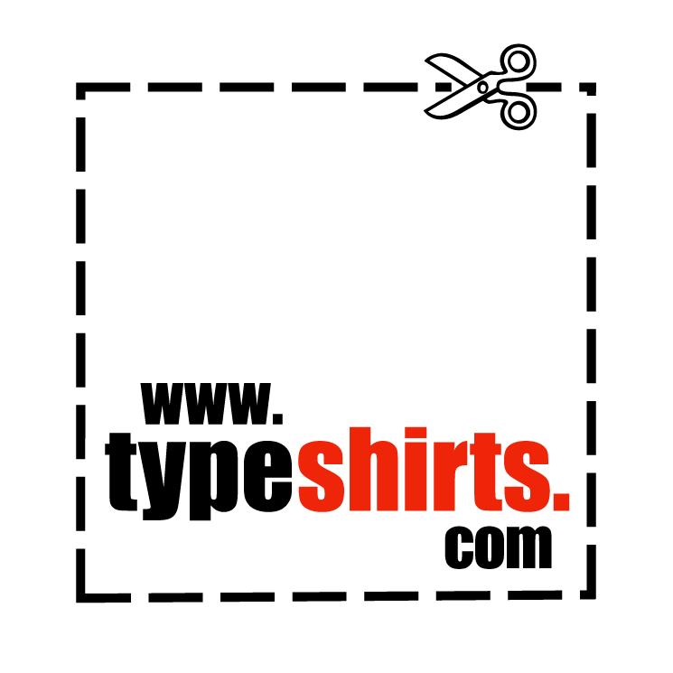 free vector Typeshirts