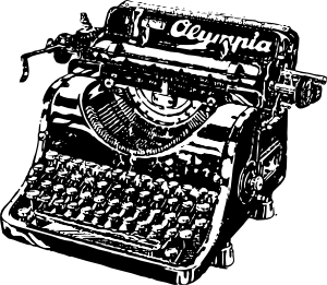 Typewriter Clip Art - schliferaward