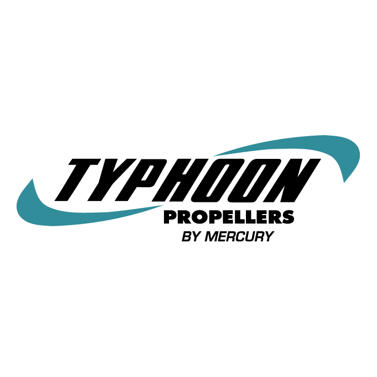 free vector Typhoon propellers