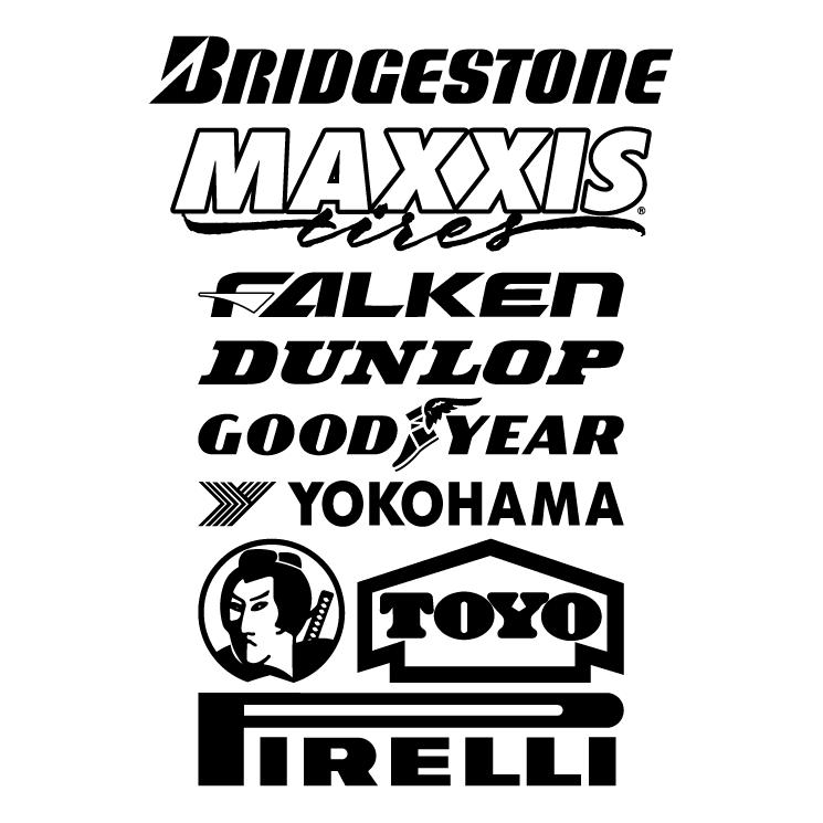 free vector Tyre logos