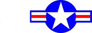 free vector U.s. Aircraft Insignia clip art