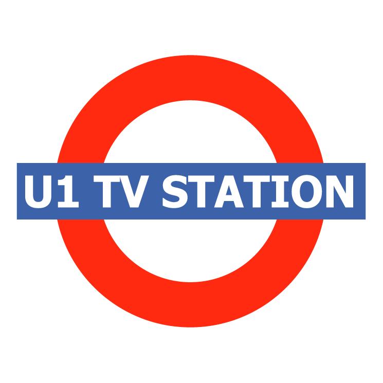free vector U1 tv station