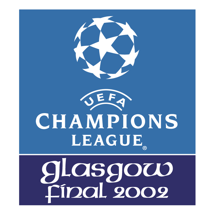 free vector Uefa champions league glasgow final 2002