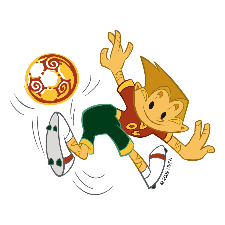 free vector Uefa euro 2004 portugal 14