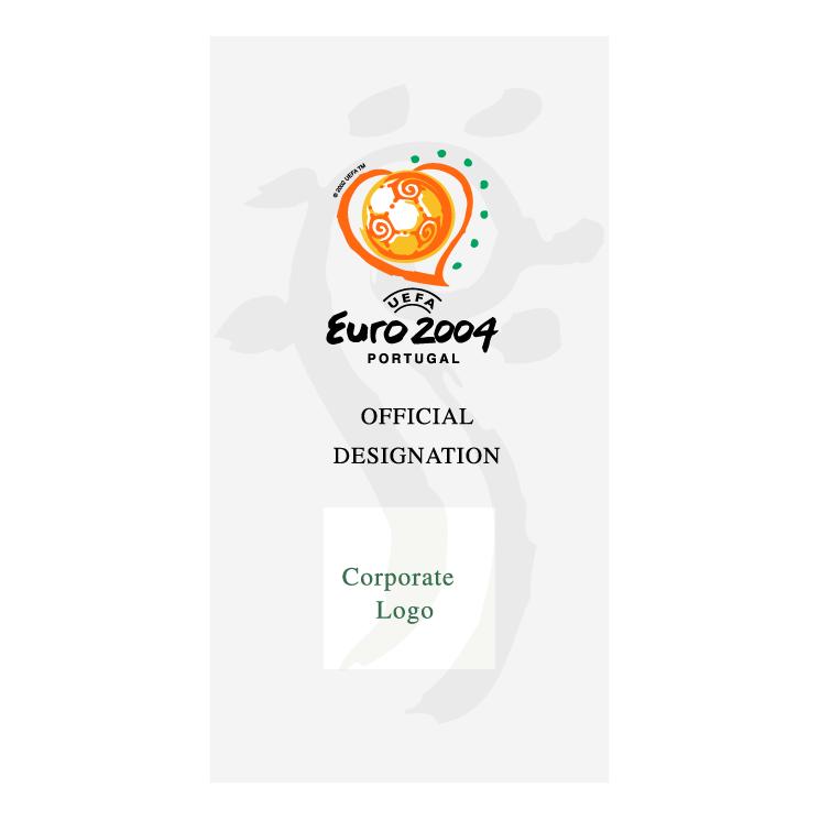 free vector Uefa euro 2004 portugal 50