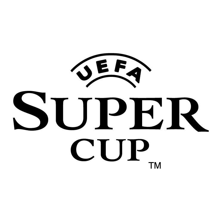 free vector Uefa super cup