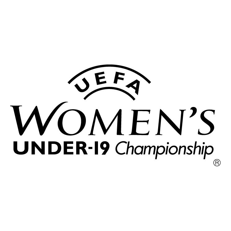 free vector Uefa womens under 19 championship