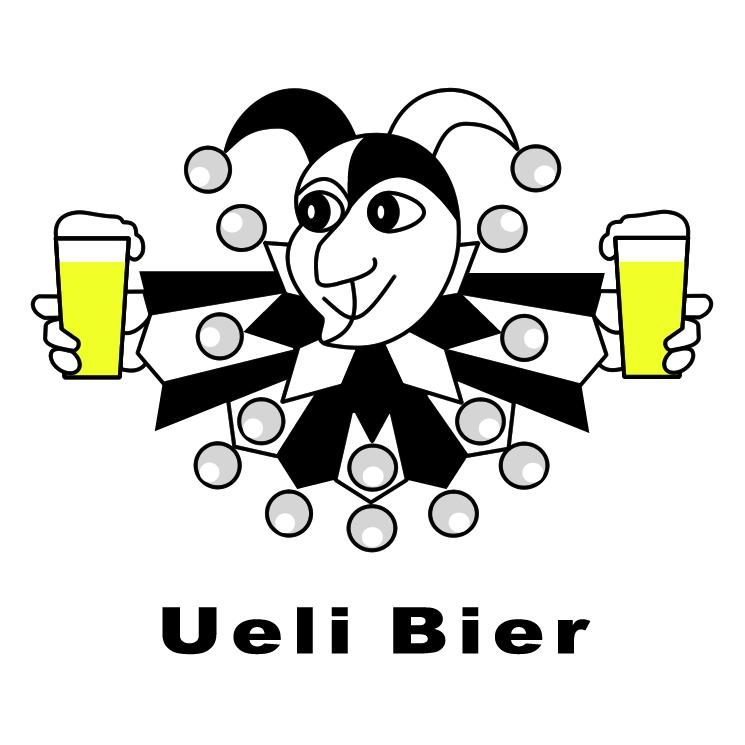 free vector Ueli bier