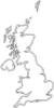 free vector Uk Map Outline clip art