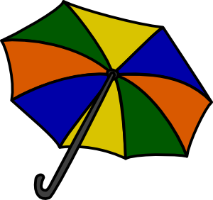 free vector Umbrella clip art 116054