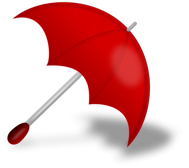 free vector Umbrella (Red)