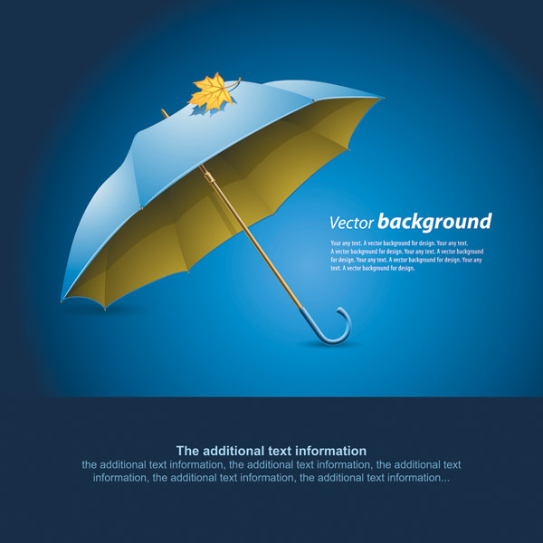 free vector Umbrella vector