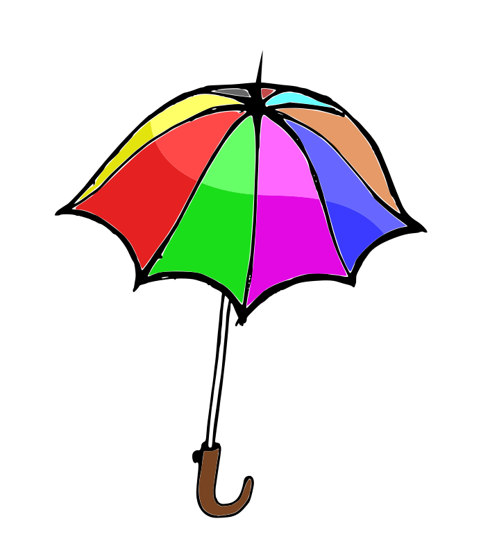 free vector Umbrella01