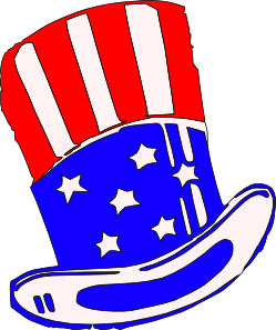 free vector Uncle Sams Hat Clothing clip art