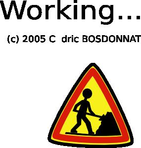 free vector Under Construction clip art