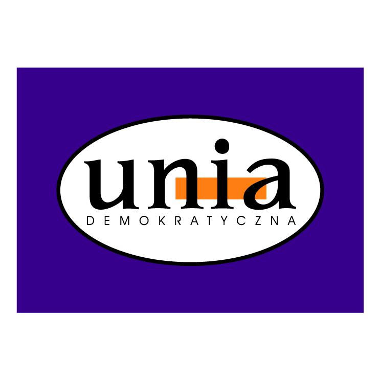 free vector Unia demokratyczna
