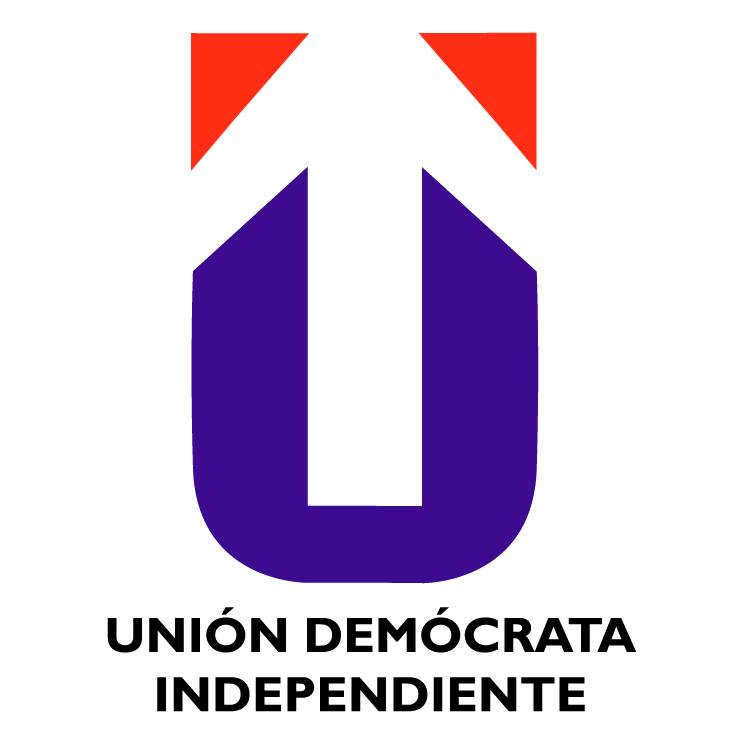 free vector Union democrata independiente