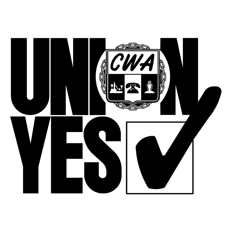 free vector Union yes cwa