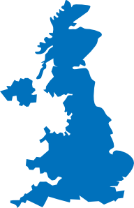 free vector United Kingdom Map clip art