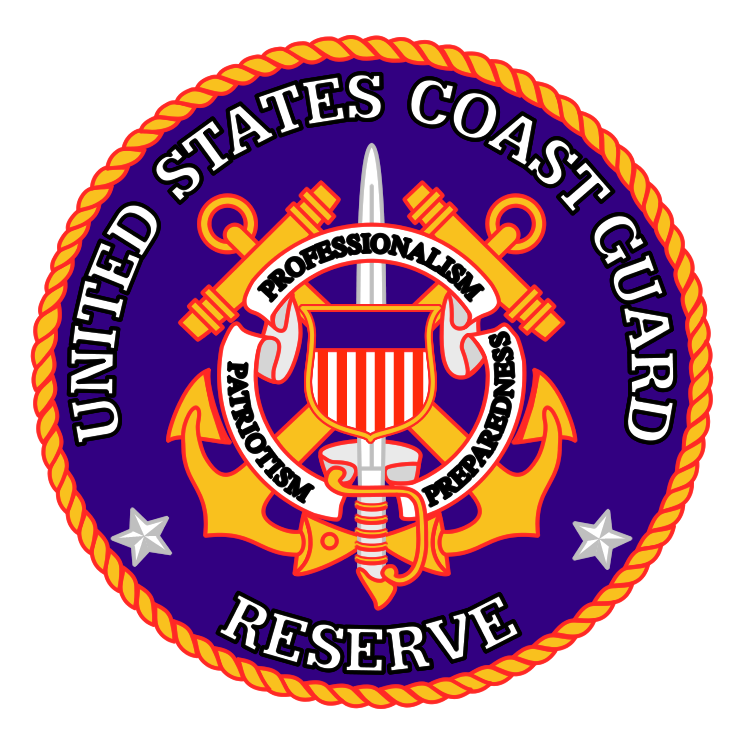 free vector United states coast guard reserve