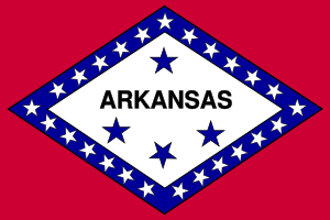 free vector United StatesArkansas clip art