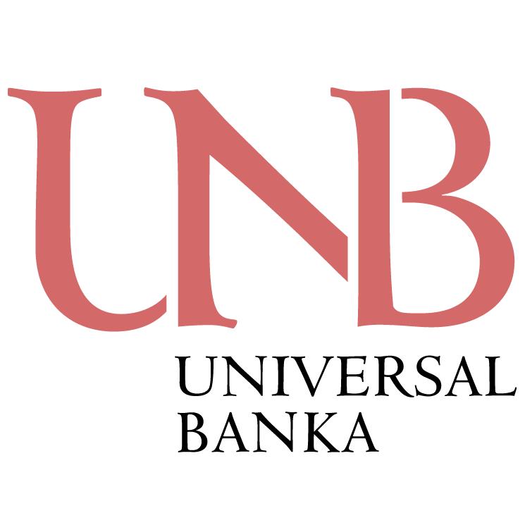 free vector Universal banka