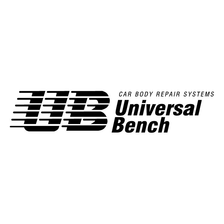 free vector Universal bench