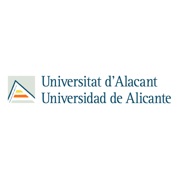 free vector Universidad de alicante