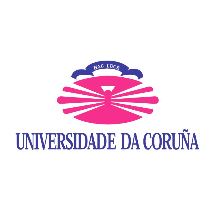 free vector Universidade da coruna