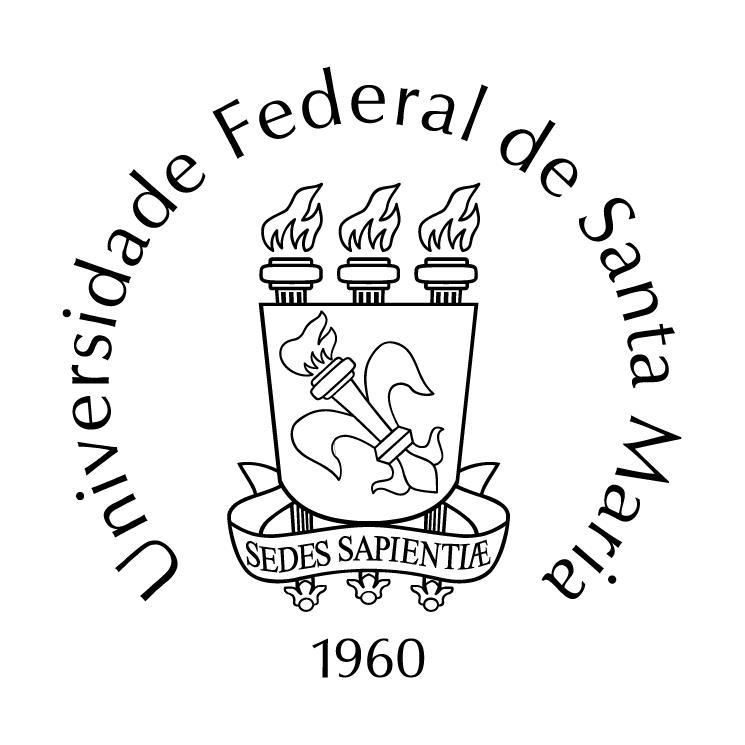 free vector Universidade federal de santa maria 0