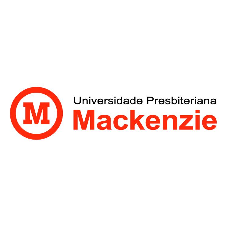 free vector Universidade presbiteriana mackenzie