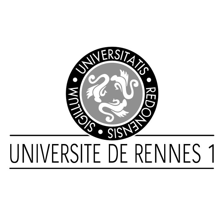 free vector Universitatis redonensis sigillum