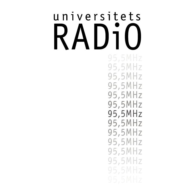 free vector Universitets radio