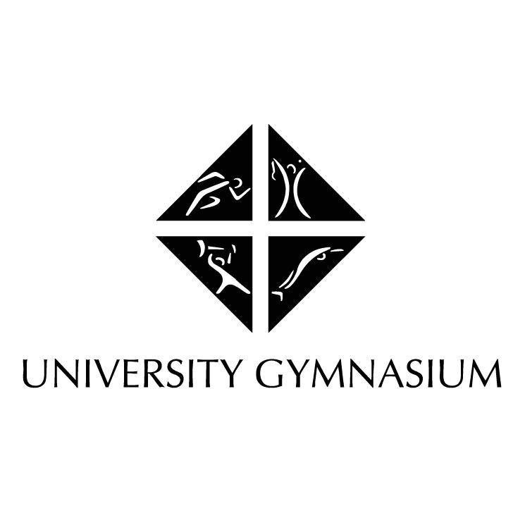 free vector University gymnasium
