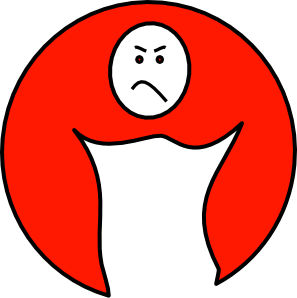 free vector Upset Mood clip art