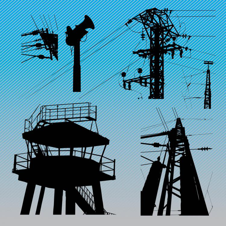 free vector Urban Structures