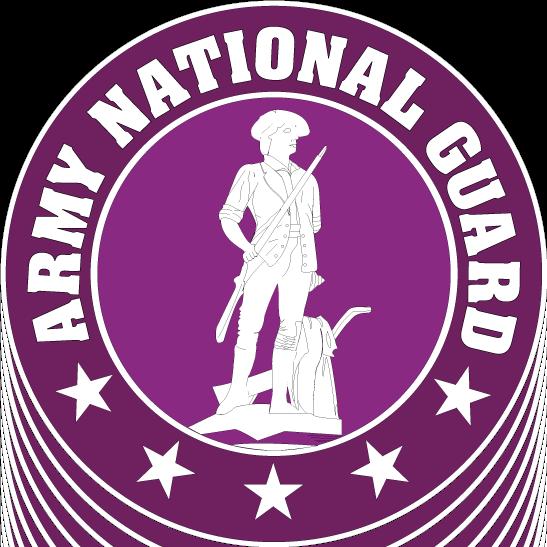 free vector US army national guard logo