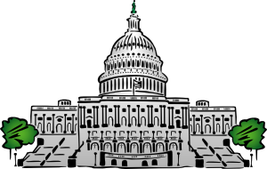 free vector Us Capitol Building Clipart Style clip art