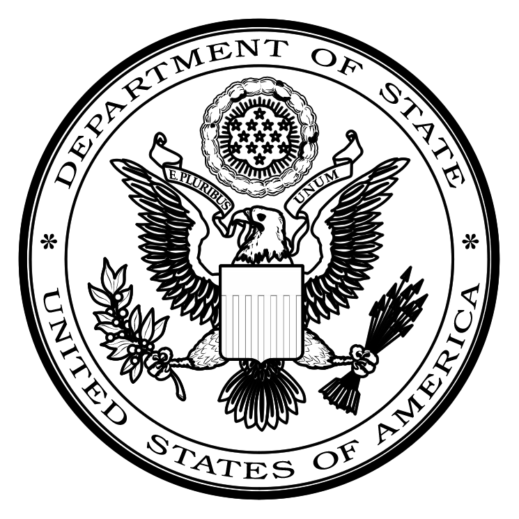 free vector Us department of state 1
