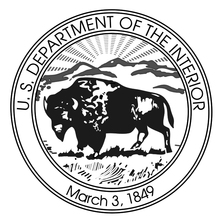 free vector Us department of the interior