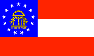 free vector Us-georgia-flag clip art