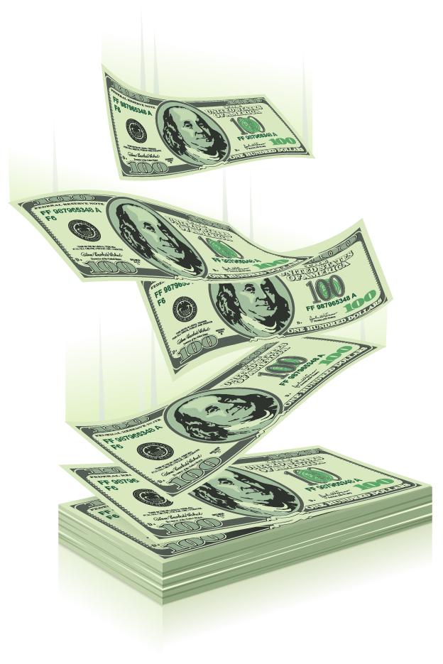 free vector Us monetary 04 vector